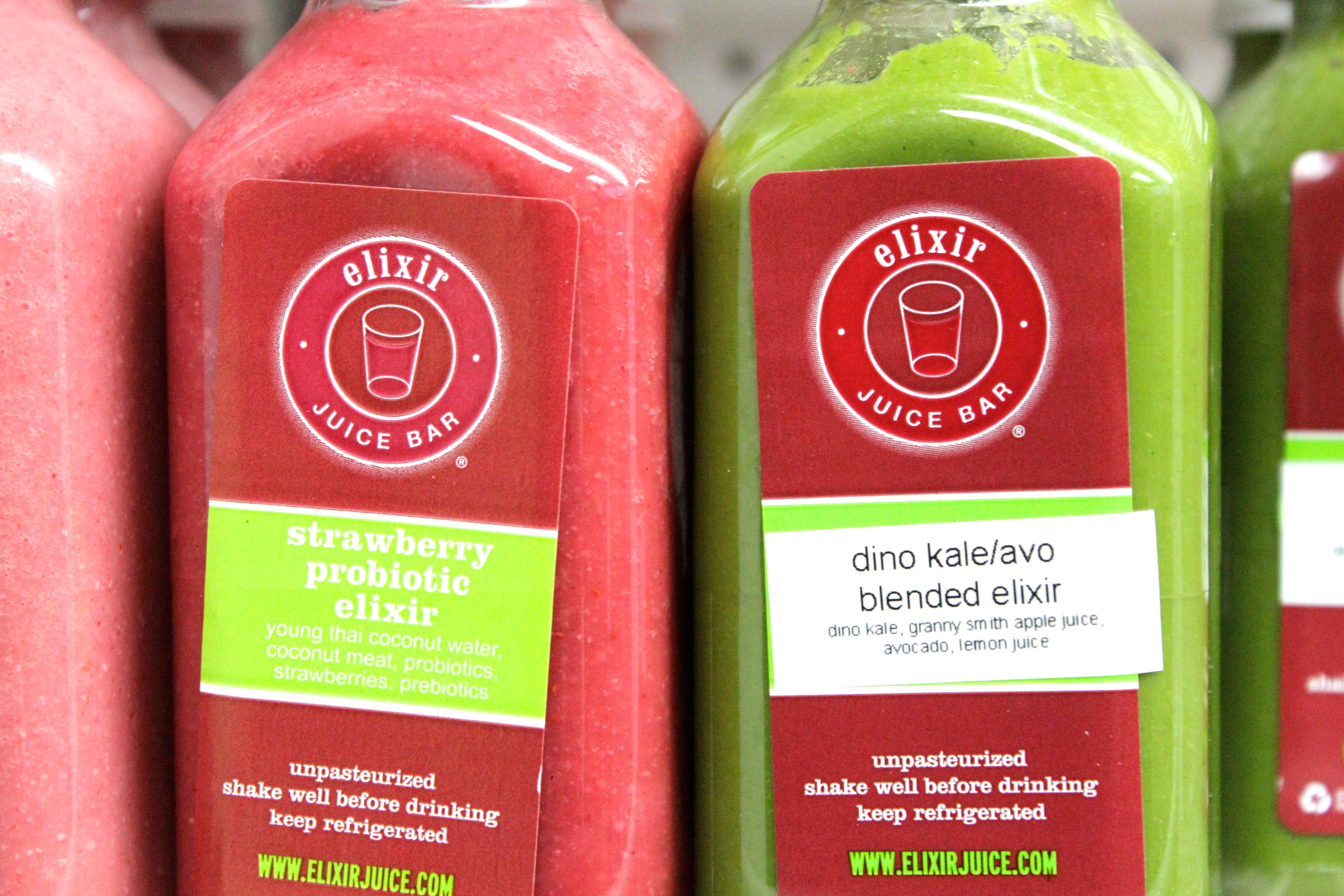 Elixir Juice Bar: Best of Juices | New York Bites